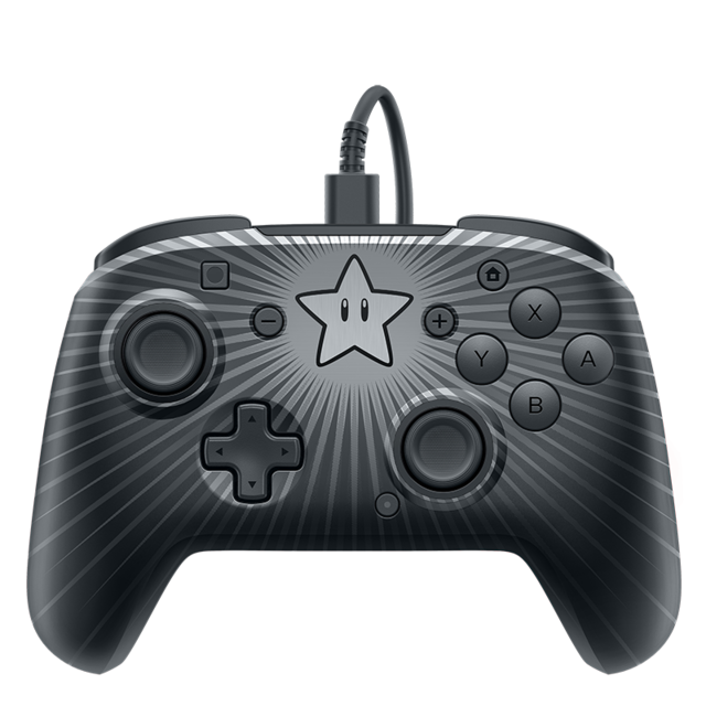 PDP - Manette filaire Mario Star - Switch PDP   - Accessoires Jeux PC PDP