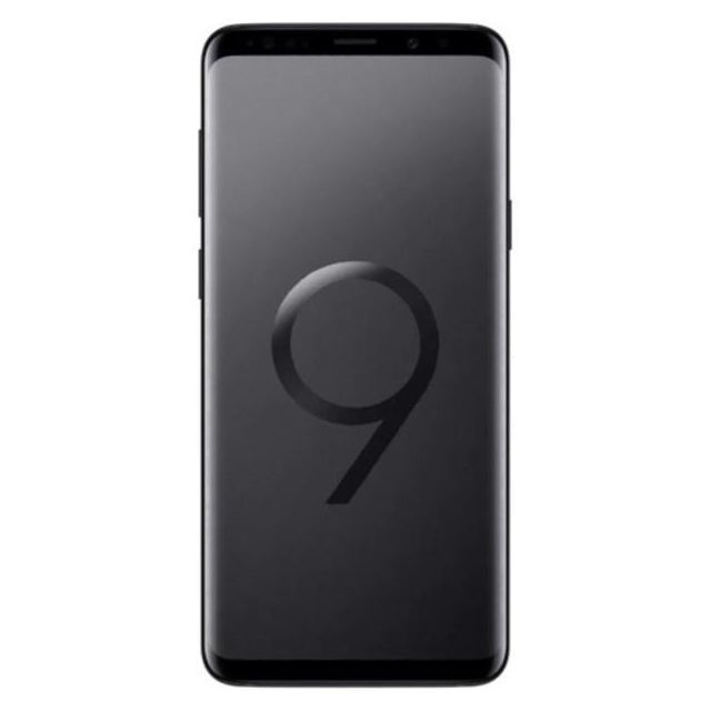 Samsung - Samsung Galaxy S9 Plus Dual SIM 128 Go SM-G965F/DS Midnight Black - Smartphone Android