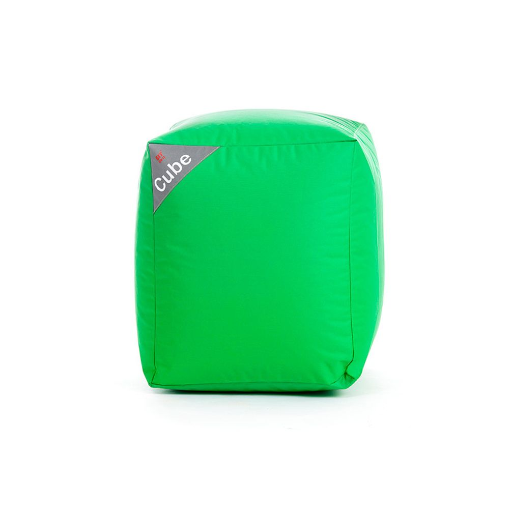 Rendez Vous Deco Pouf Cube vert