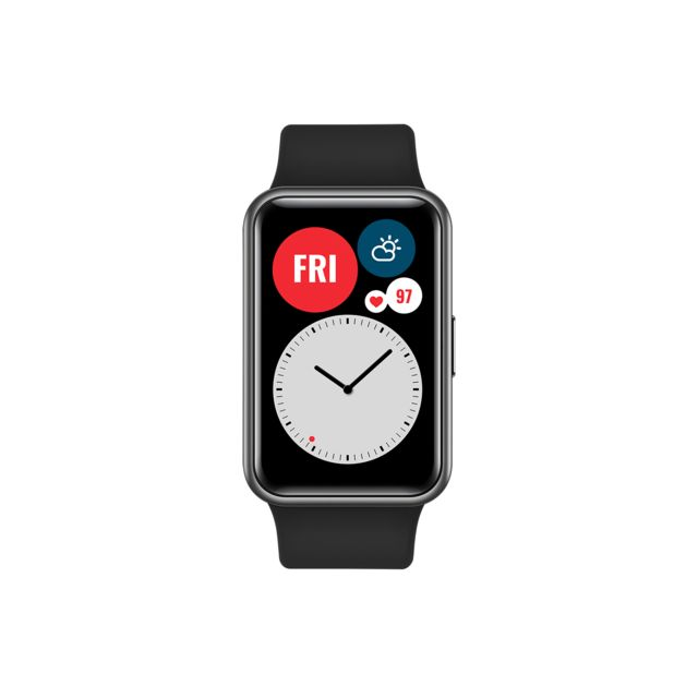 Huawei - Watch Fit - Noir - Objets connectés reconditionnés
