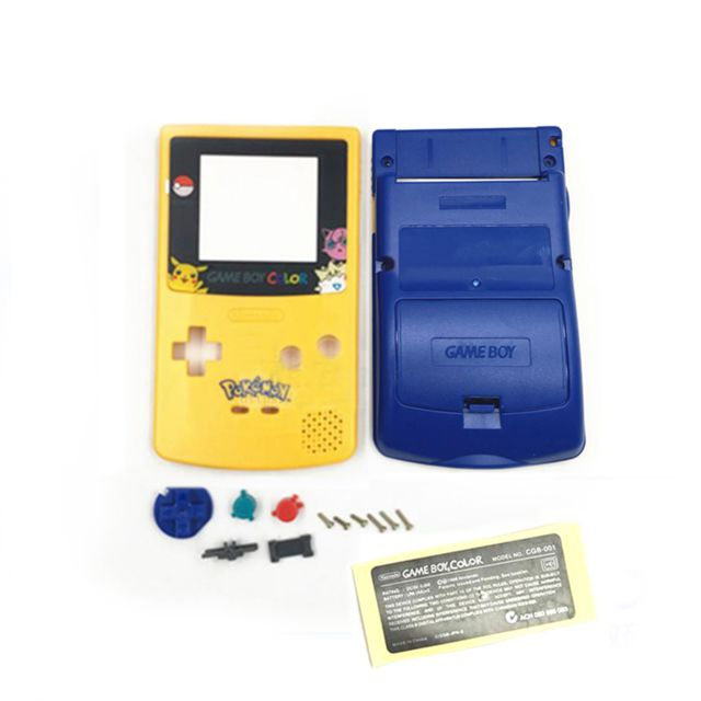 Gbc - Coque de protection Pikachu Pokemon pour console Game Boy Color GBC Gbc   - PS Vita