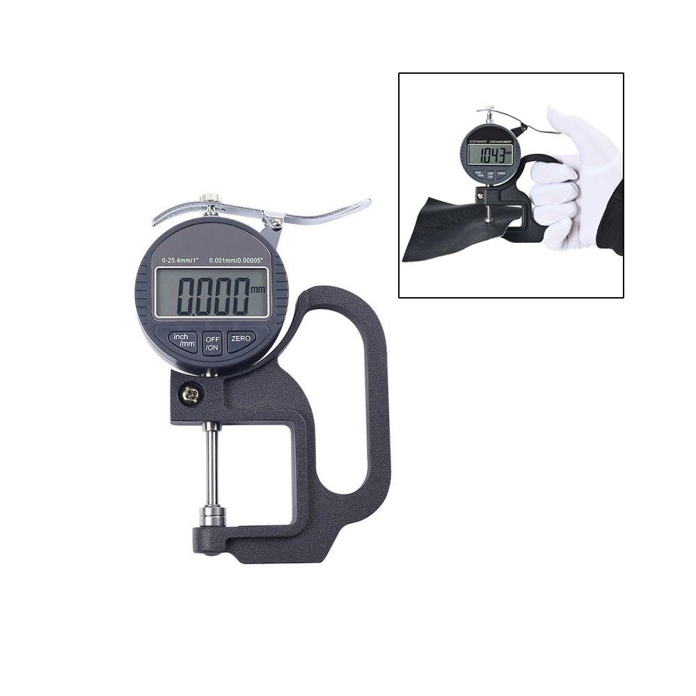 Wewoo Jauge d'épaisseur de micromètre d'affichage numérique de sonde de la gamme 30mm de 0-25mm