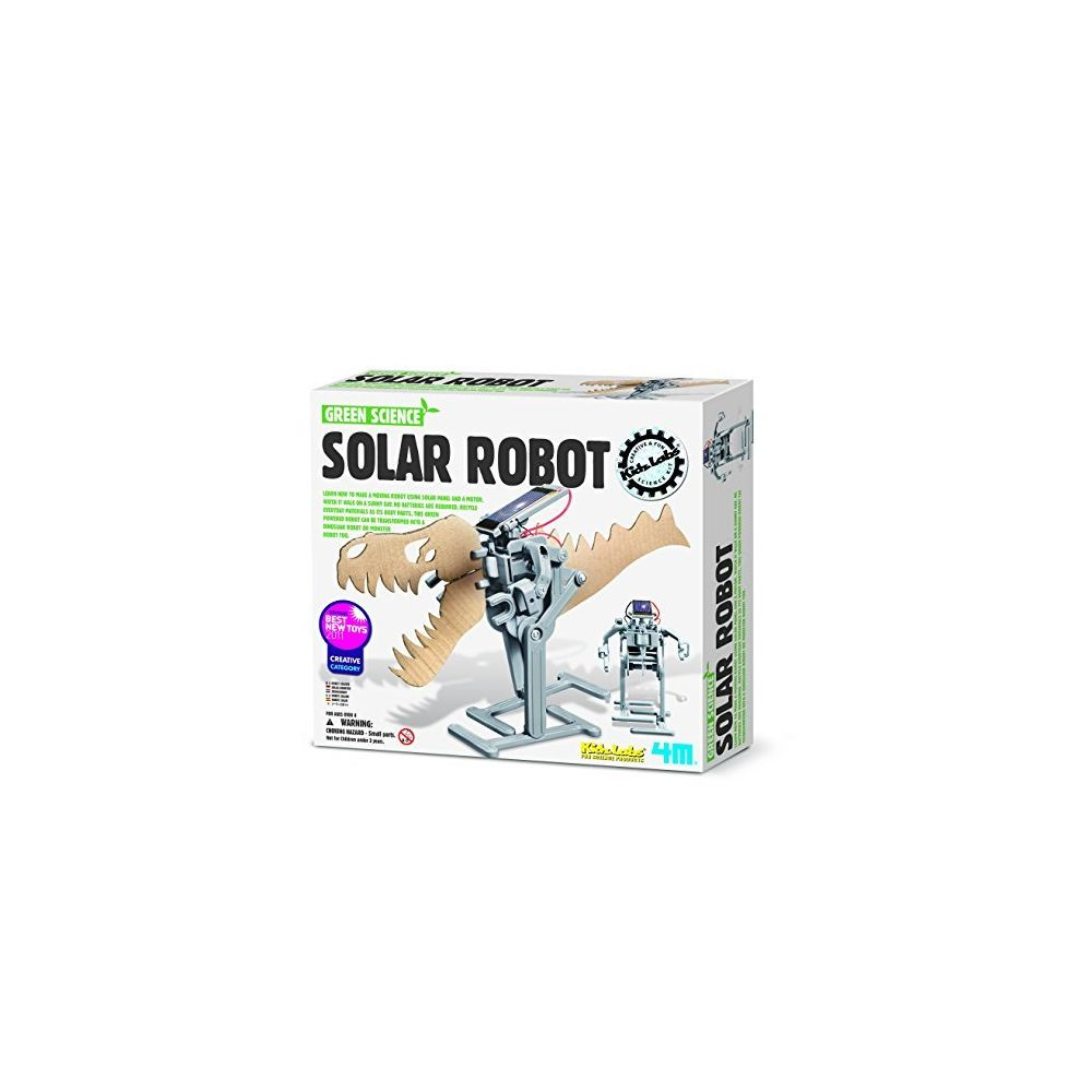4M 4M green Science Solar Robot