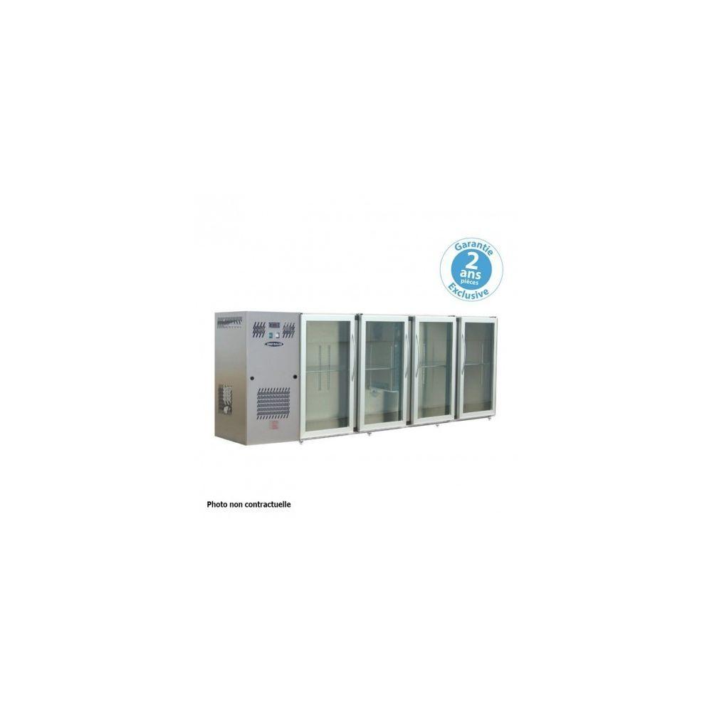 Materiel Chr Pro Arrière-bar - profondeur 540 - groupe logé - 4 larges portes vitrées - 722 litres -