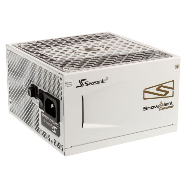Seasonic - PRIME SnowSilent Gold 550W, 80 PLUS Gold Certified - Alimentation modulaire
