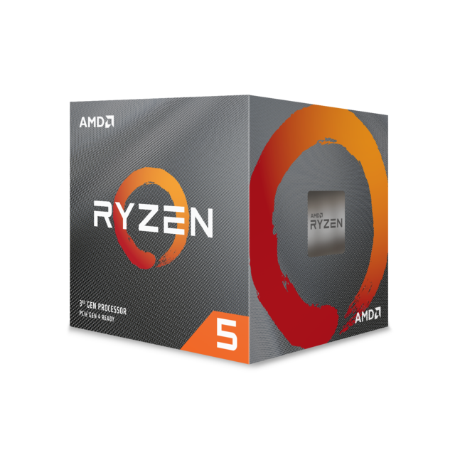 Amd - Ryzen 5 3600 Wraith Stealth Edition - 3,6/4,2 GHz - Composants