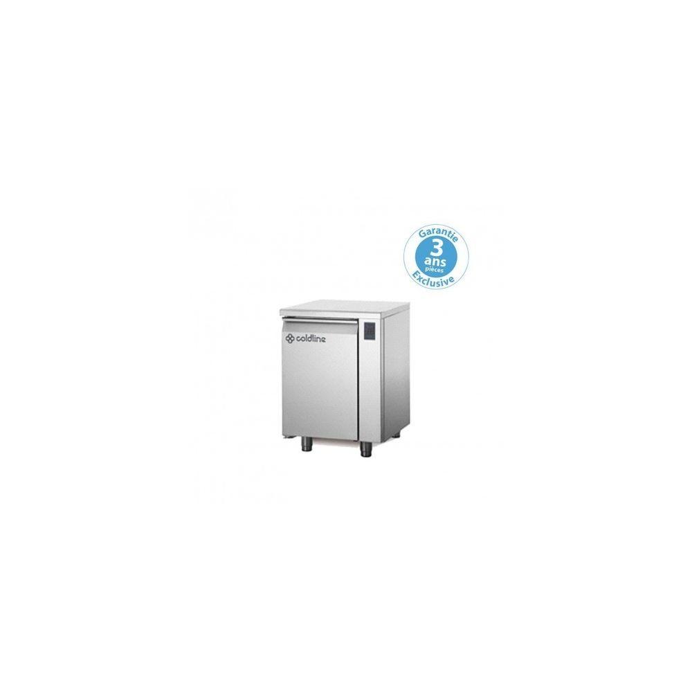 Materiel Chr Pro Table réfrigérée négative - sans groupe - 1 porte - 145 litres - profondeur 800 - 600 x 400 - avec dessus -