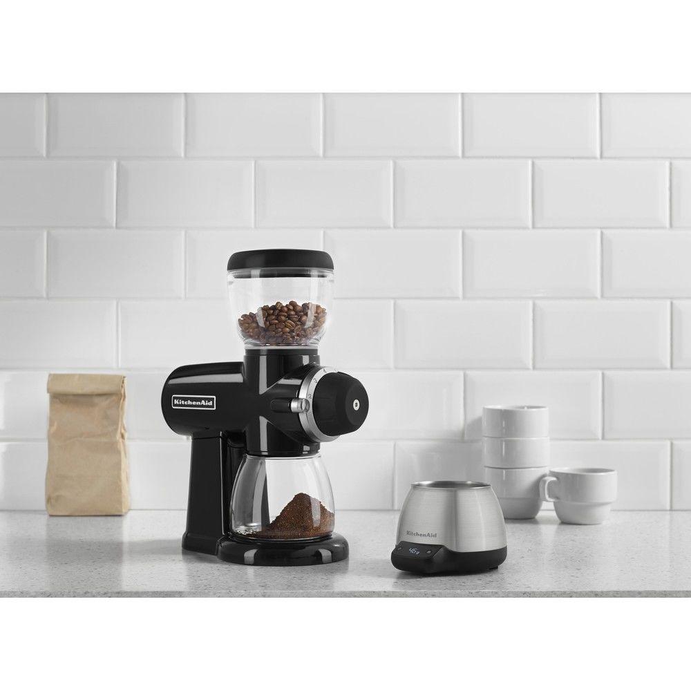 Kitchenaid broyeur à café avec 15 niveaux de finesse noir onyx