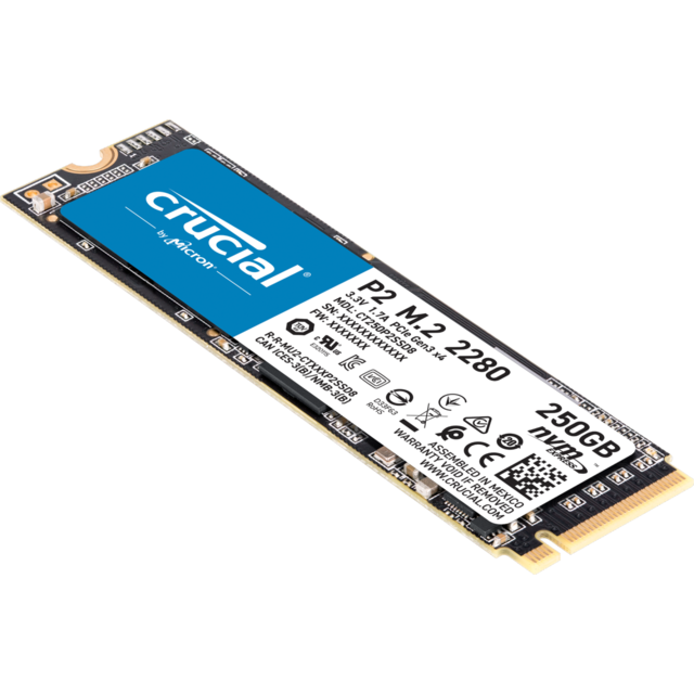 SSD Interne Crucial CT250P2SSD8