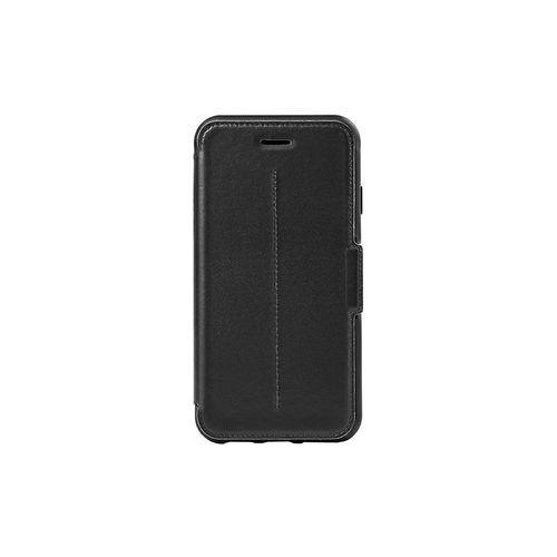 otterbox strada etui en cuir veritable antichoc fin elegant pour iphone 6 noir