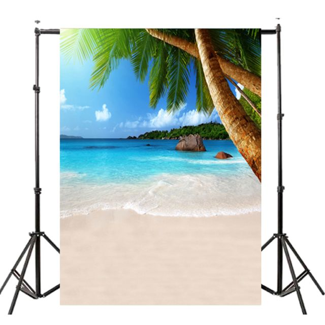 Generic Ete Seascape Plage Dreamlike Haloes 3d Photographie Fond Ecran Photo Video Photographie Studio Tissu Props Toile De Fond Viseur Rue Du Commerce