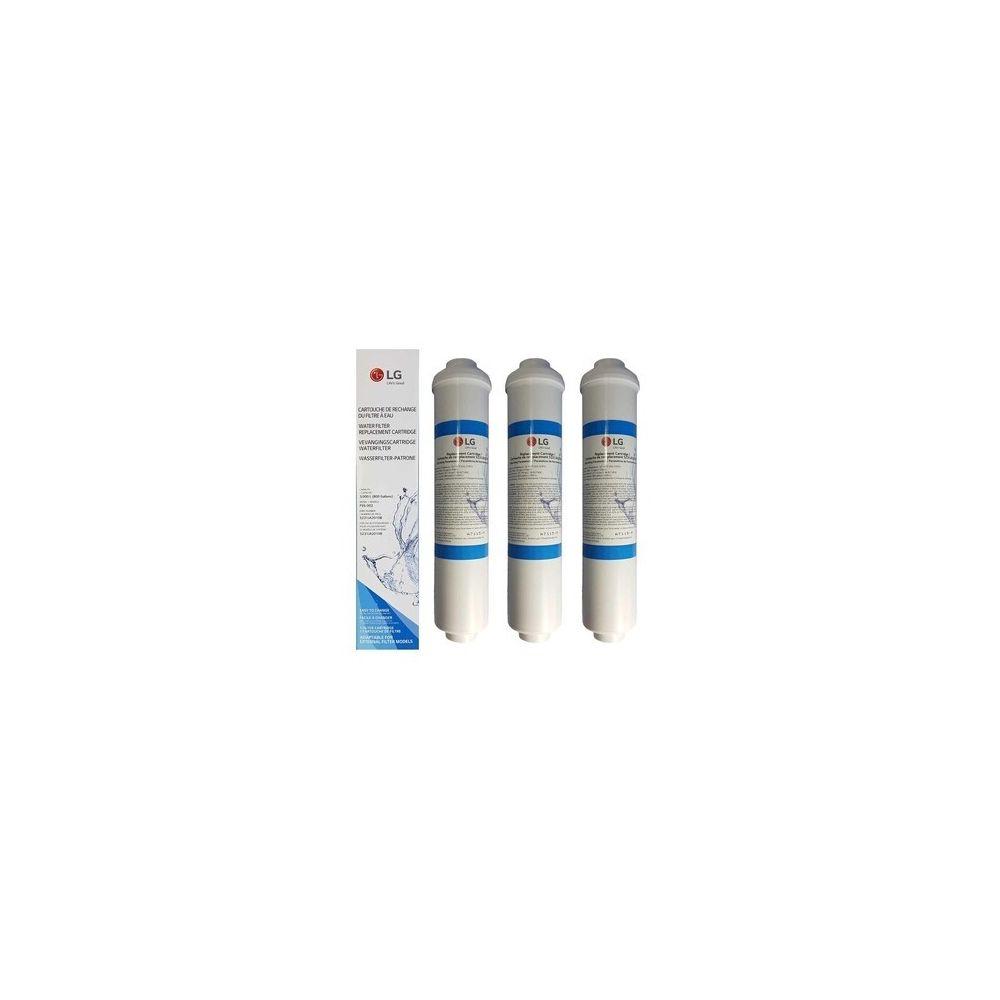 LG Lot de 3 filtres à eau externe pour réfrigérateur américain lg