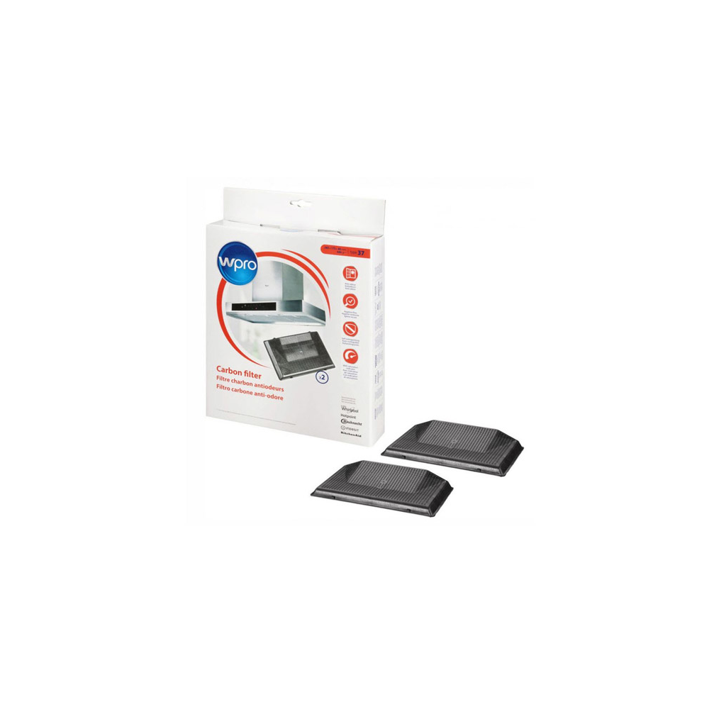 Wpro Filtres A Charbon Pour Hotte Amc962/1 reference : 484000008786