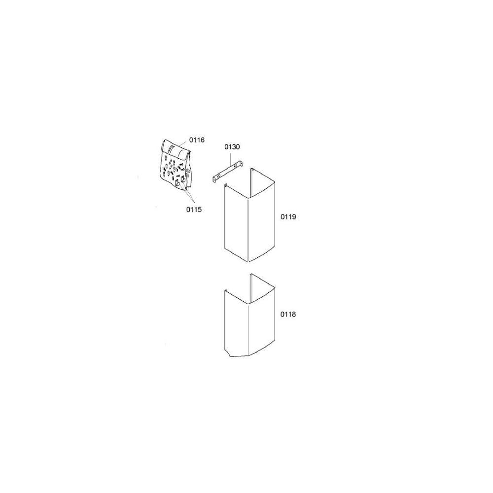 Bosch Conduit D Aeration Superieur Rep 0119 reference : 00239278