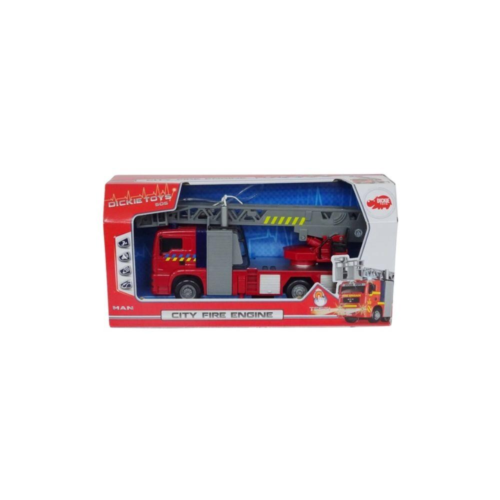 Dickie Dickie Toys - Camion de pompier Lumière et Son 30 cm