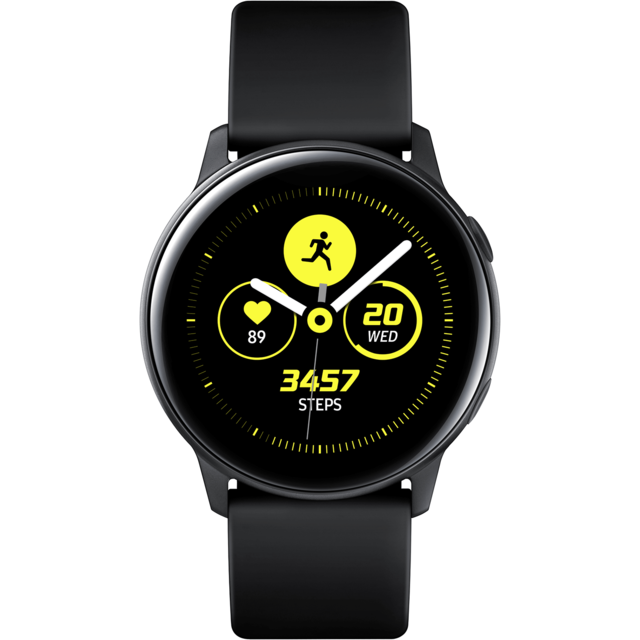 Samsung - Galaxy Watch Active - Noir Pur - 40 mm - Objets connectés