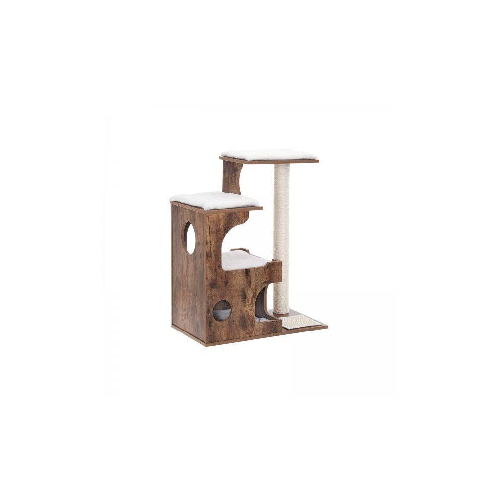 Usinedistrib Arbre à chat 88 cm rustique
