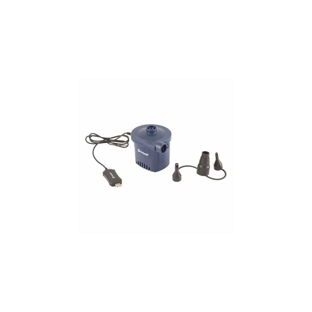 Outwell Pompe électrique Outwell Wind Pump USB bleu noir