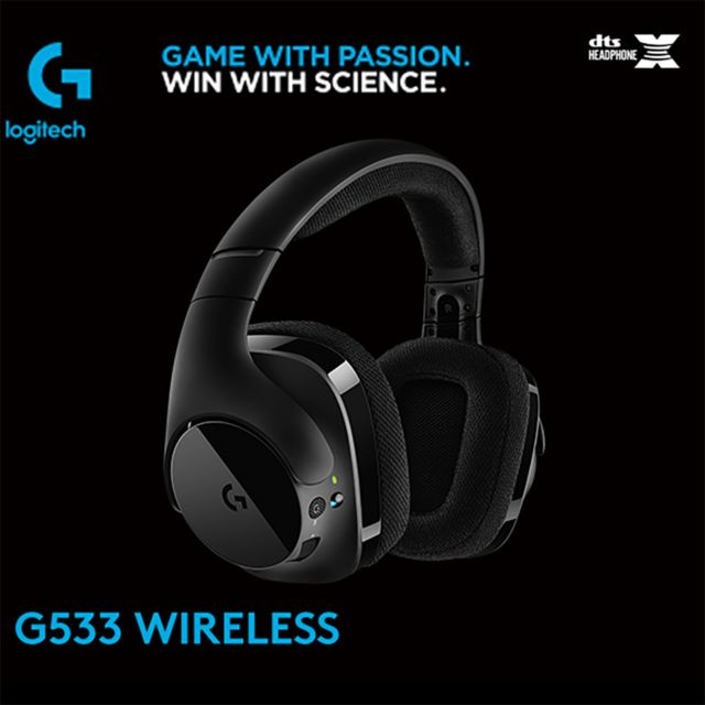 Generic - Logitech G533 7.1 Surround sans fil son casque Gaming Headset DTS Ear Fone - Micro-Casque