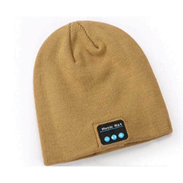 marque generique -YP Select Bluetooth Hat Bluetooth Beanie Hat with Bluetooth 5.0 Built-in Stereo Mic Fit for Outdoor Sports-Jaune marque generique  - Ecouteurs intra-auriculaires