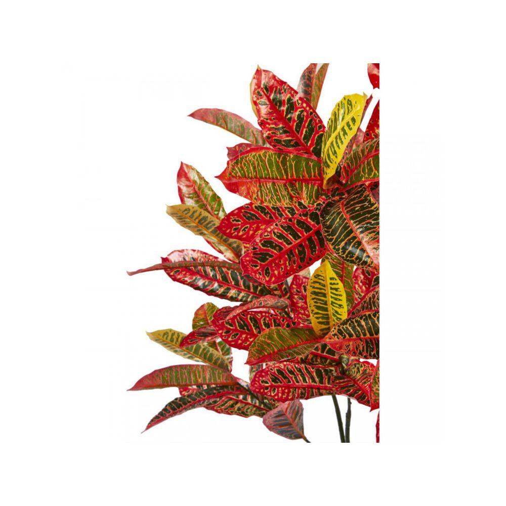 Bobochic BOBOCHIC Plante artificielle OLLA 128 feuilles et pot noir