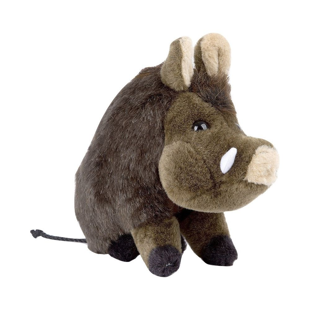 Made In Chasse Peluche Sanglier assis 28 cm