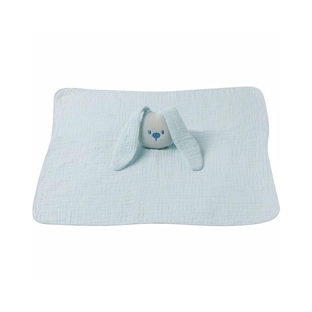 Nattou NATTOU Doudou tissu lange aqua - Blue