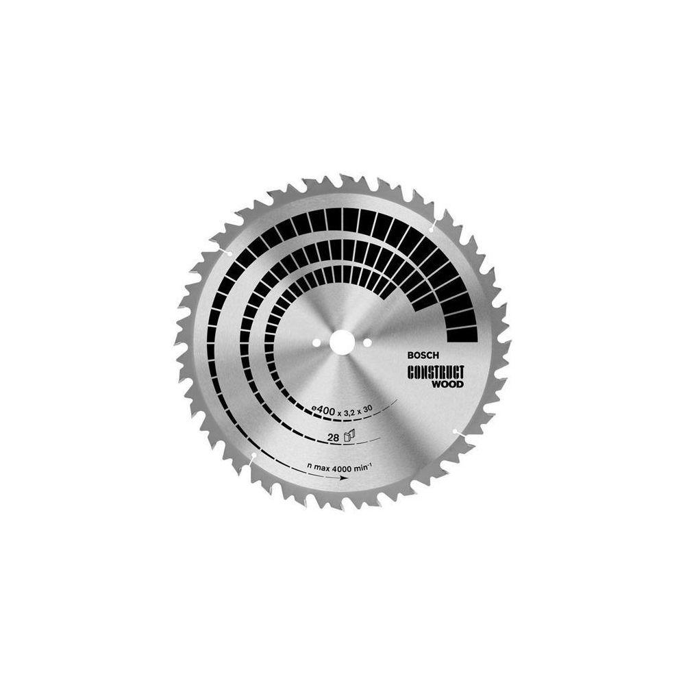 Bosch BOSCH Lames scies circulaires de table Construct Wood - Bois sans clous (Ø 450 mm, 32 dents)