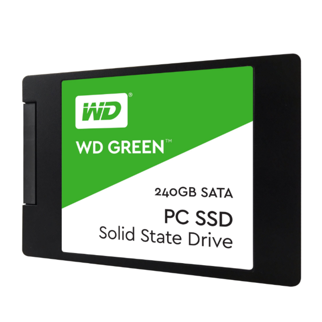 Western Digital -WD GREEN 240 Go 2.5'' SATA III (6 Gb/s) Western Digital  - SSD 2,5'' SATA