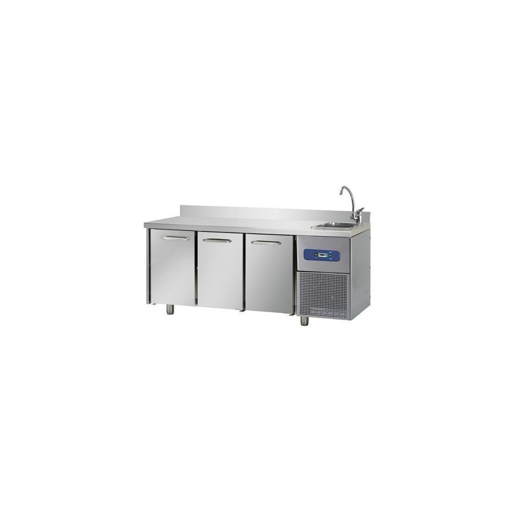 Materiel Chr Pro Table réfrigérée positive - Profondeur 700 - Virtus - 700