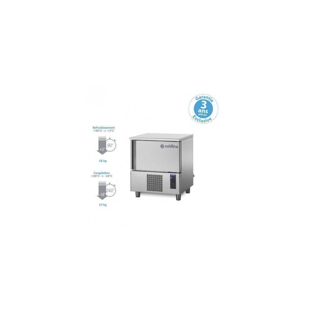 Materiel Chr Pro Cellule Mixte de Refroidissement - groupe logé - 18/14 kg - 6 niveaux - de 6 à 10 Ni