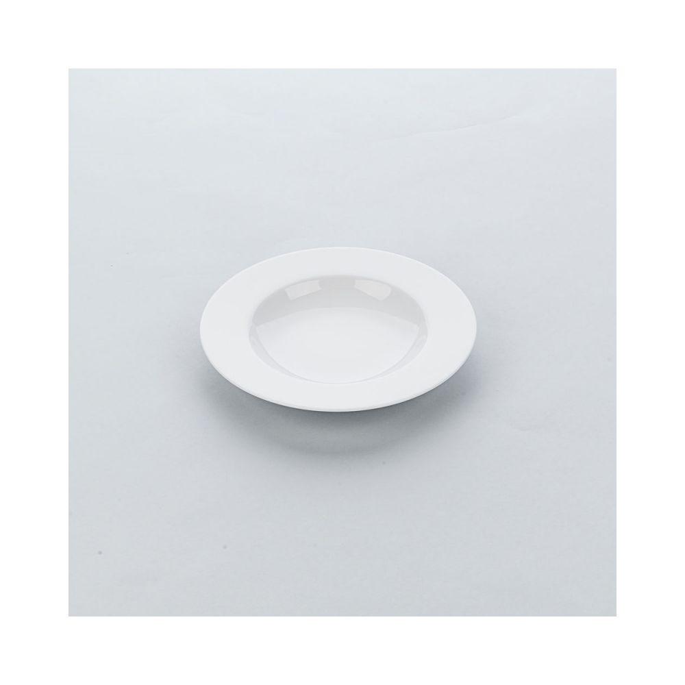 Materiel Chr Pro Assiette Creuse Porcelaine Blanche Apulia Ø 225 à 270 mm - Lot de 6 - Stalgast - 22,5 cm Porcelaine