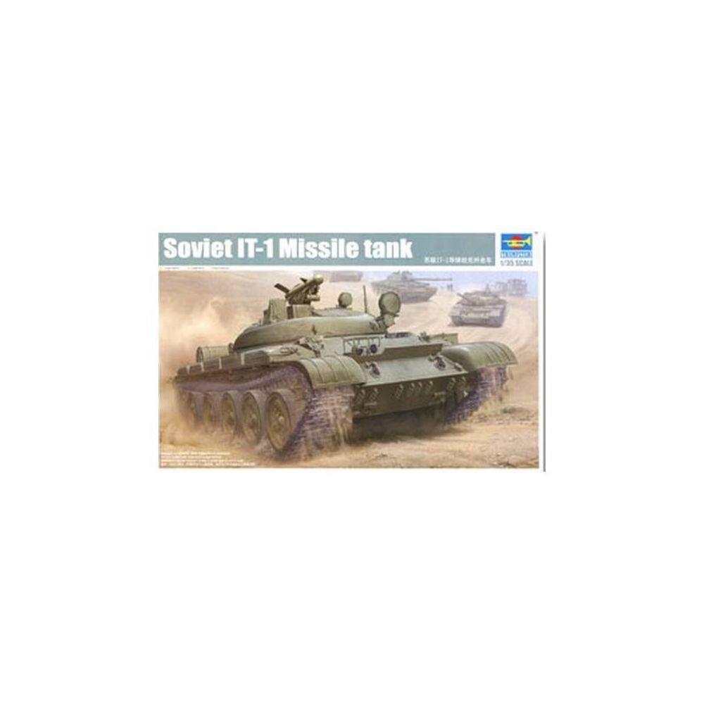 Trumpeter Maquette Lance Missile Soviet It-1 Missile Tank
