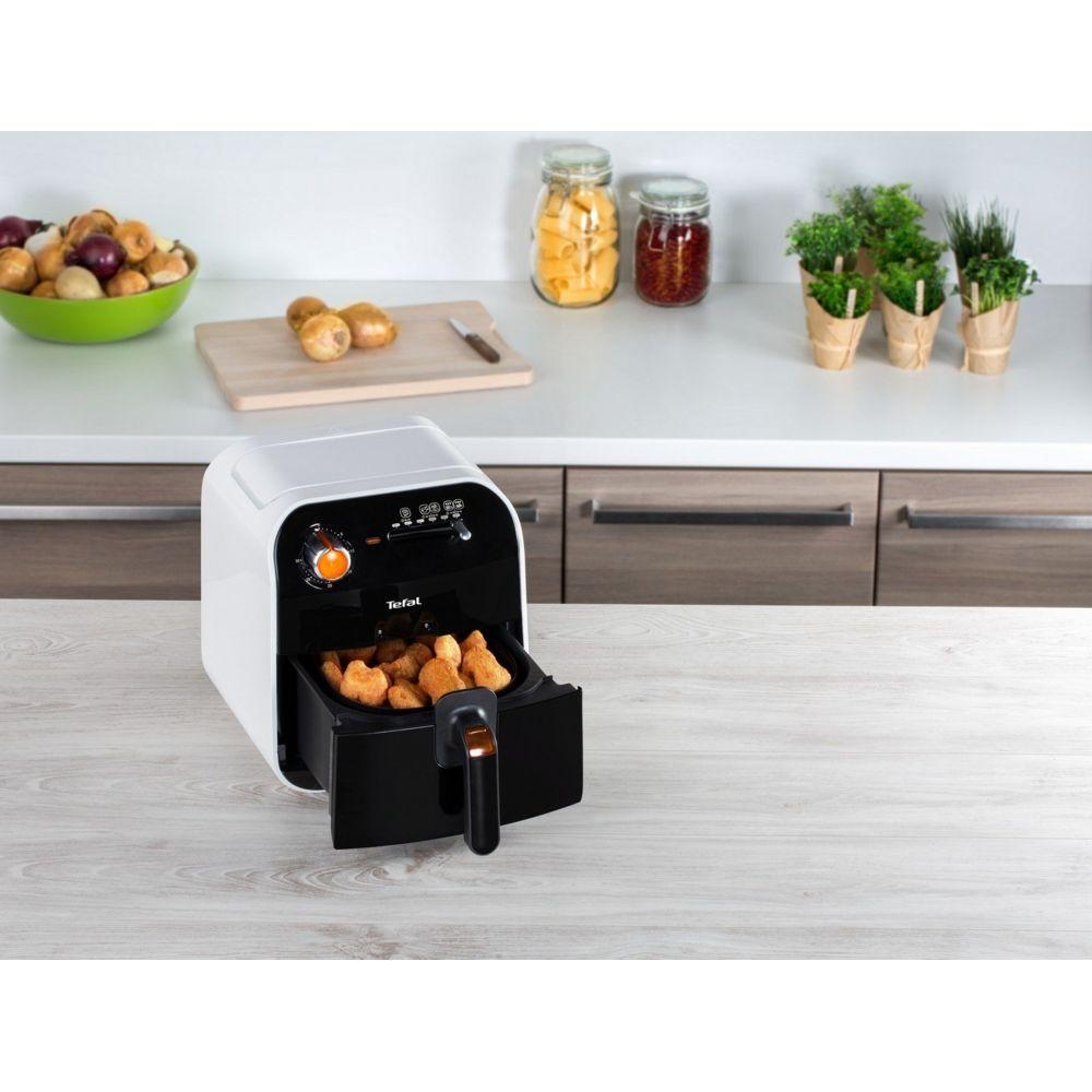 Tefal friteuse électrique de 0,8KG 1400W noir blanc