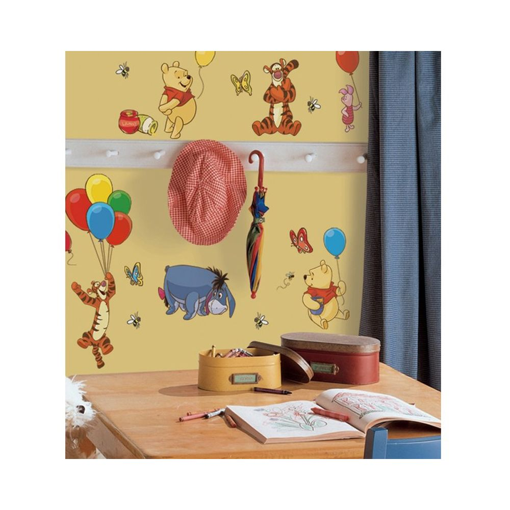 Roommates 38 Stickers repositionnable Winnie l'Ourson Disney