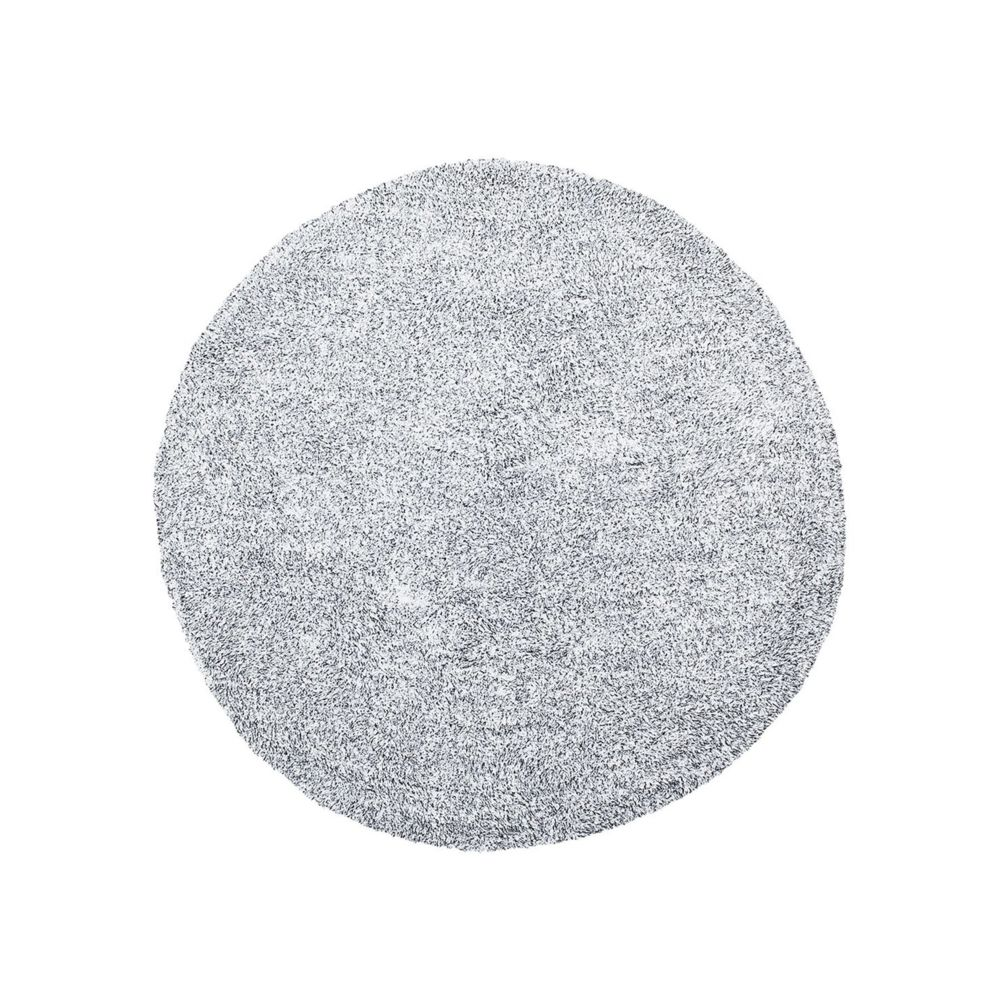 Beliani Beliani Tapis rond en tissu poivre et sel DEMRE - gris