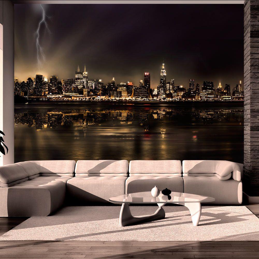 Bimago Papier peint - Storm in New York City - Décoration, image, art | Ville et Architecture | New York |