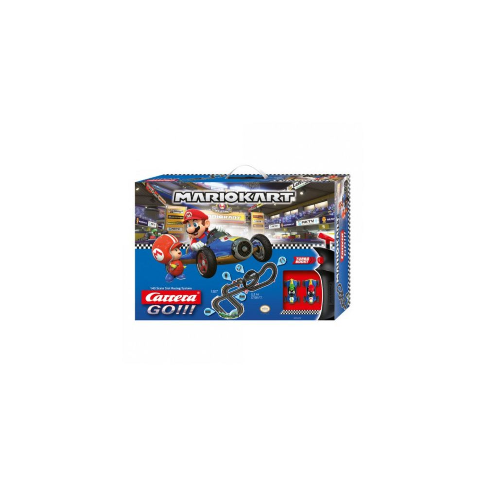 carrera Circuit voitures Coffret Nintendo Mario Kart 8 Mach 8 - Dès 6 ans - Carrera GO!!! 62492
