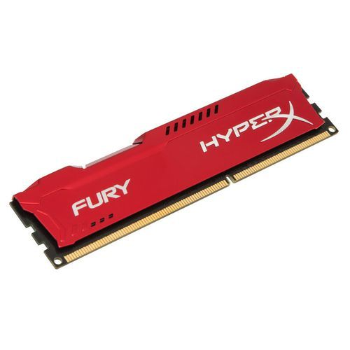 Kingston - HyperX Fury RED Series 8 Go - DDR3 1866 MHz Cas 10 - RAM PC Fixe Fury