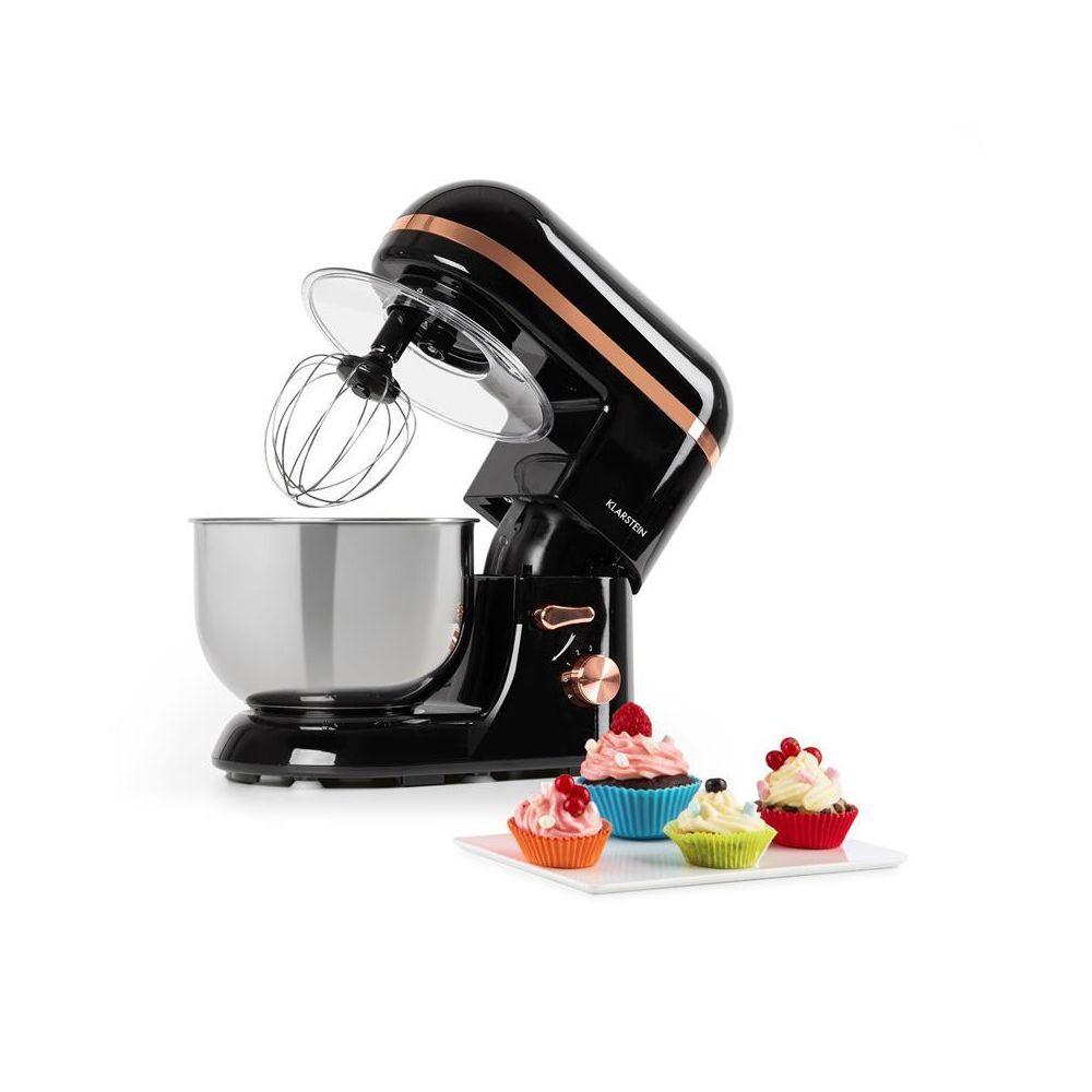 Klarstein Klarstein Bella Elegance Robot de cuisine 5 litres 1300W 6 vitesses - noir Klarstein