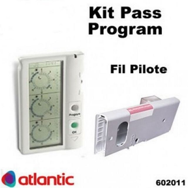 Atlantic - Atlantic 602011 - Kit Pass Program par Fil Pilote - Energie connectée