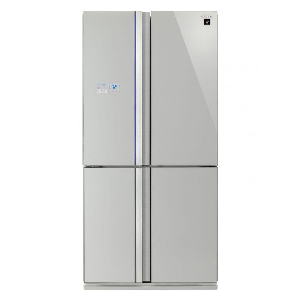 Sharp Réfrigérateur multi-portes 605L Froid Ventilé SHARP 89cm A+, SJFS810VSL