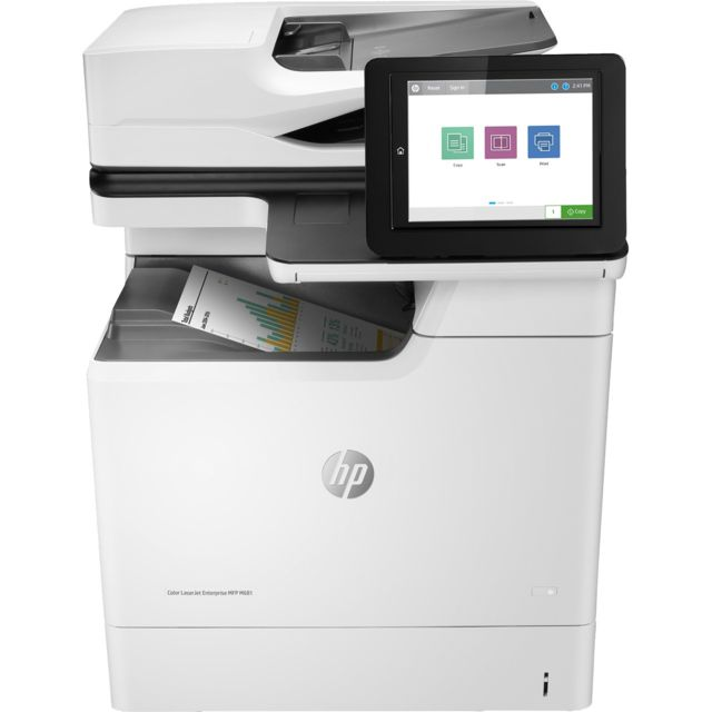 Hewlett Packard - HP Color LaserJet Enterprise MFP M681dh - Imprimante Laser