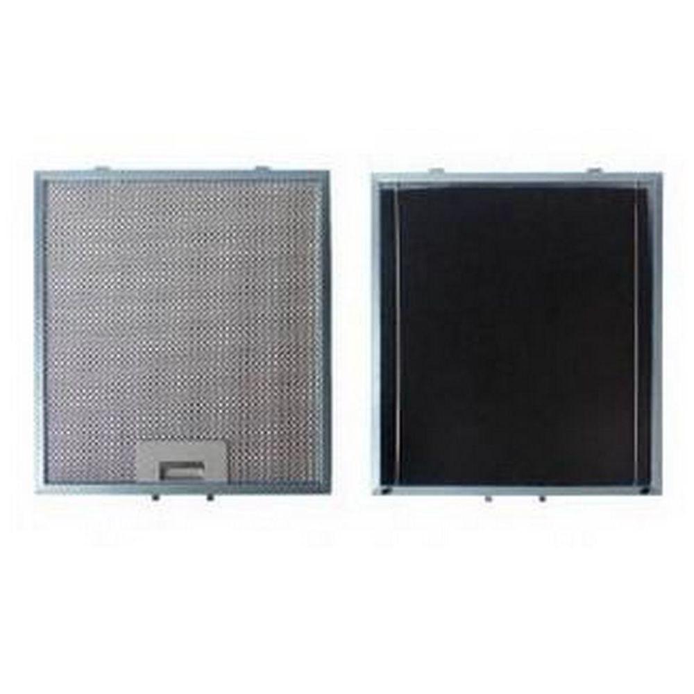 Sauter Filtre métal anti graisse (à l'unité) + charbon 303x278mm