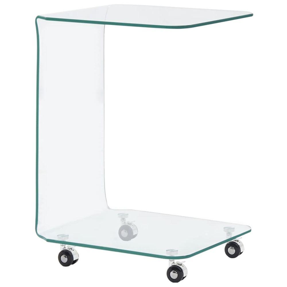 Uco UCO Table basse 45 x 40 x 63 cm Verre trempé