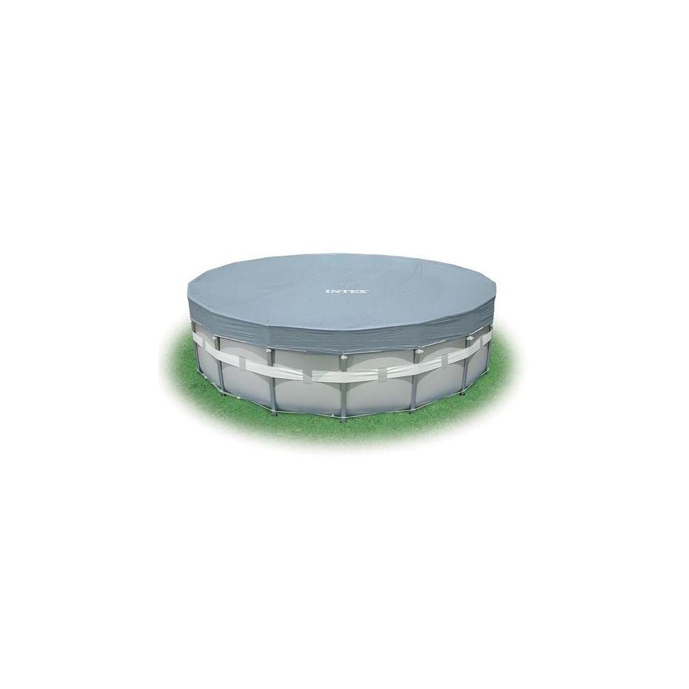 Intex Bâche 5,49 m de diamètre pour piscine tubulaire ronde Intex