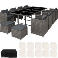 SOLDES 2020 | Table et Chaises de jardin plastique | Rue Du ...