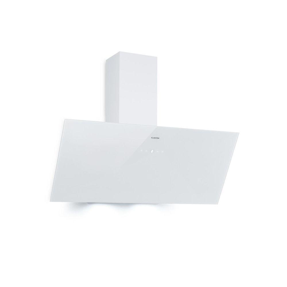 Klarstein Klarstein Laurel 90 Hotte aspirante 90 cm - Extraction: 350 m³/h - Eclairage LED - Panneau de commande tactile - Classe