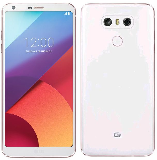 LG - G6 - 32 Go - Blanc LG   - Smartphone Android Lg g6
