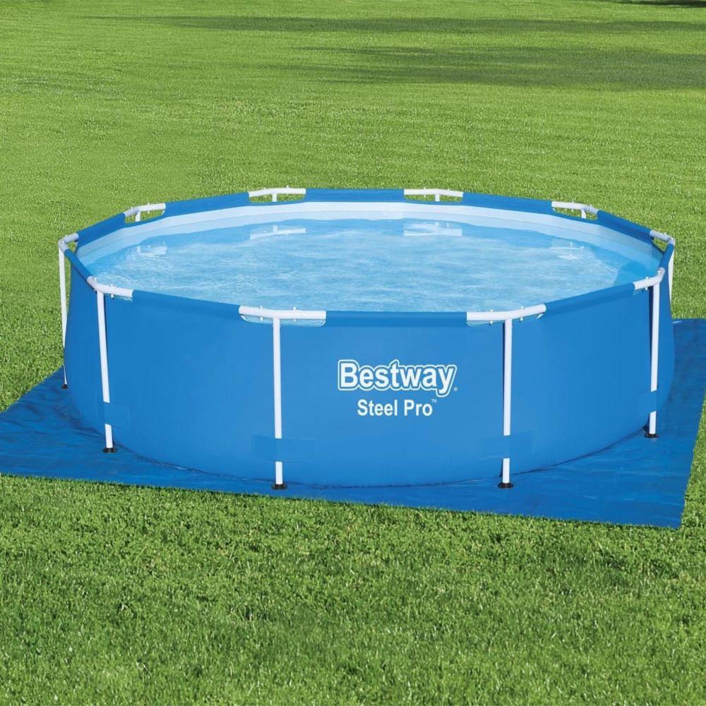 Bestway - Bestway Tapis de sol pour piscine Flowclear 8x8 cm